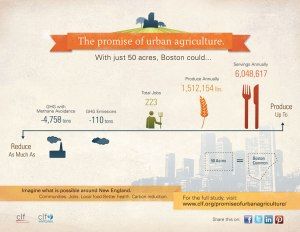 CLF on Urban Farming in Bosotn